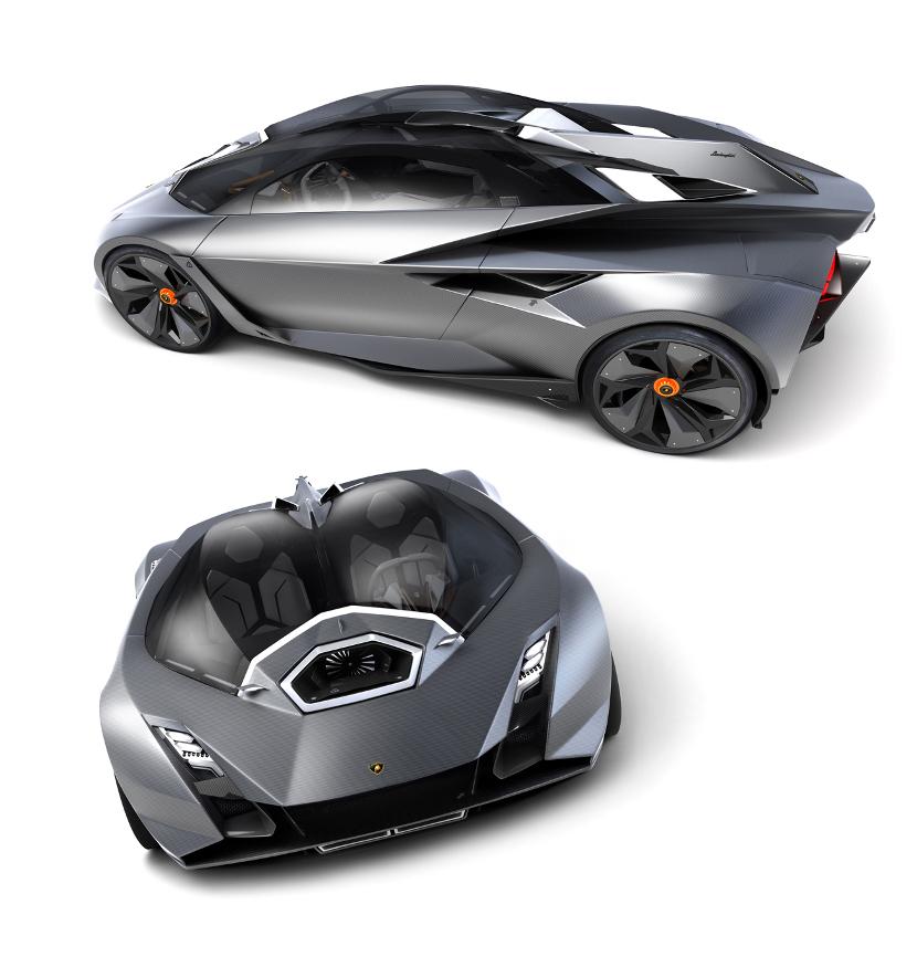 Концепт агрессивного спорткара Lamborghini Perdigon
