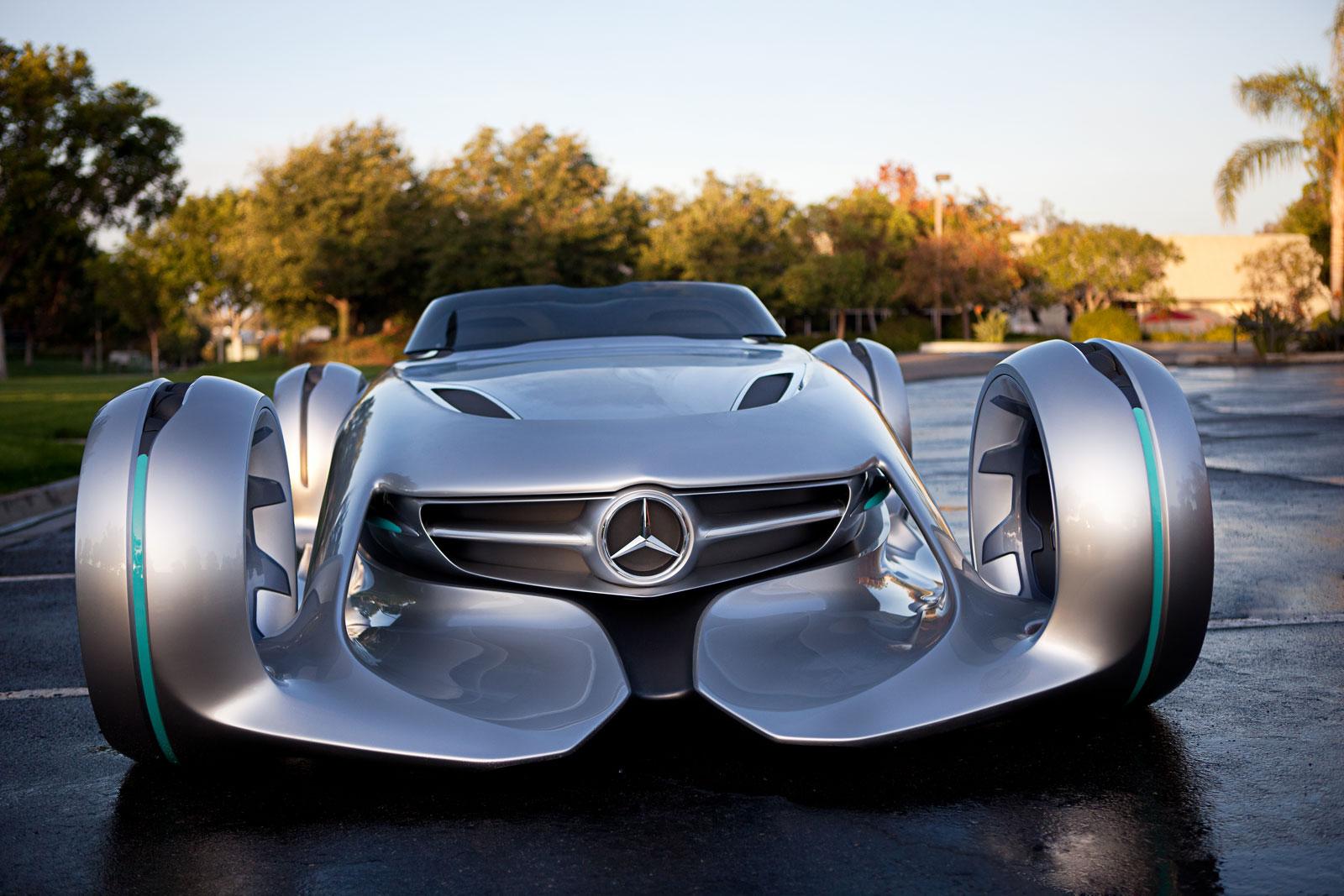 Ирреальный концепт Mercedes-Benz Silver Arrow
