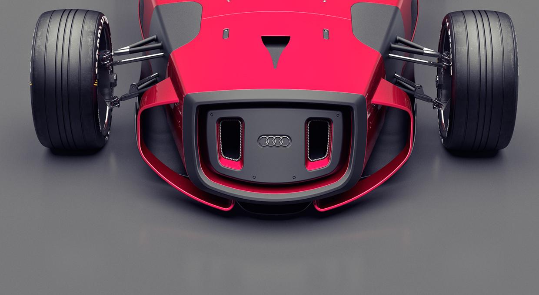 Концепт сногсшибательного электрокара Audi от отечественного дизайнера
