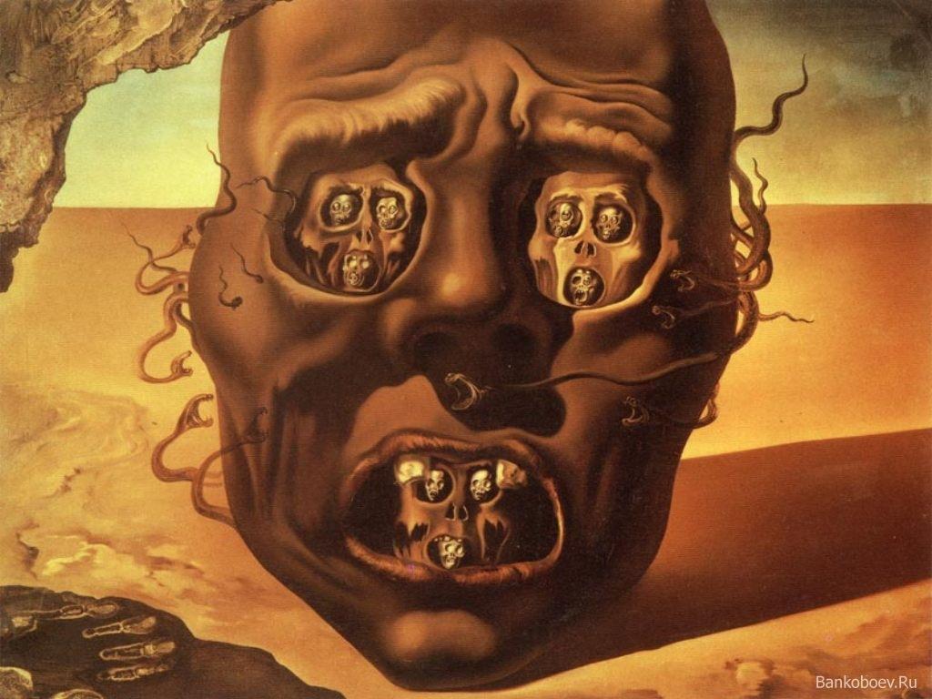 Лицо войны, Сальвадор Дали (1941) / ©Flickr
