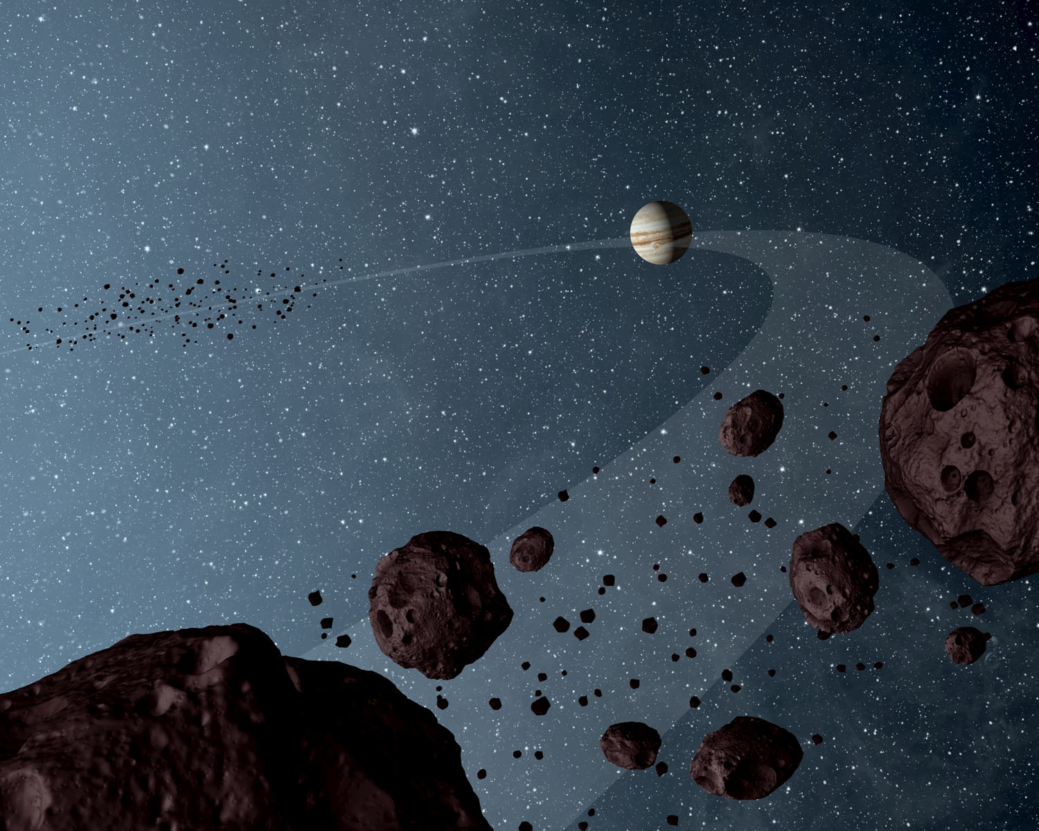 asteroids-that-lap-the-sun-in-the-same-orbit-as-Jupiter-are-uniformly-dark-with-a-hint-of-burgundy-color