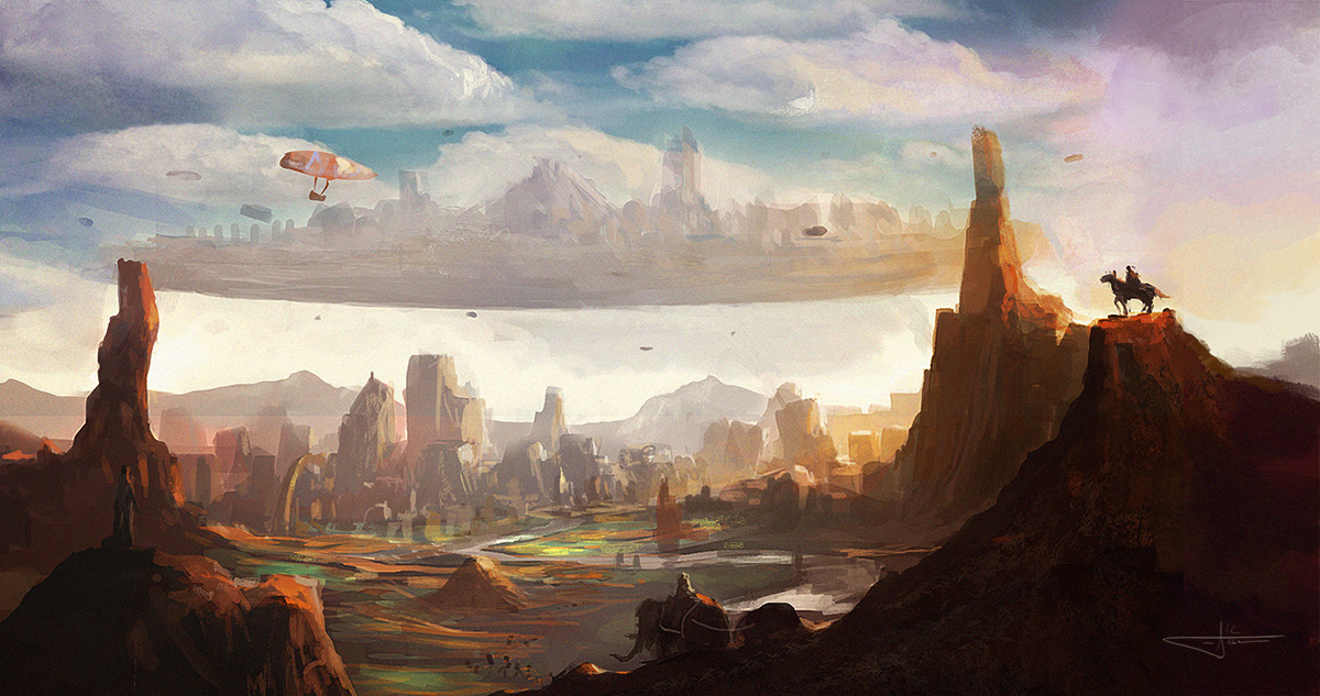 floatingcity_speedpainting_by_erenarik-d5ag8yi