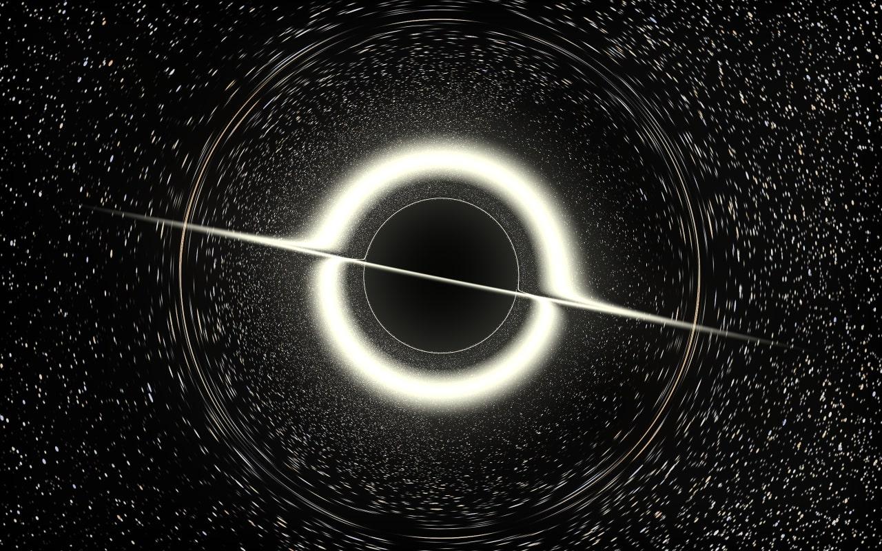lensing-disk-bloomed