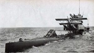 Британский подводный авианосец HMS M2
