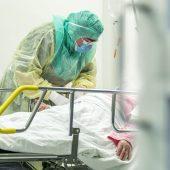 Пациент с подозрением на коронавирус в больнице Турку